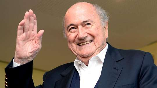 A FIFA segue na cola de Joseph Blatter. EFE