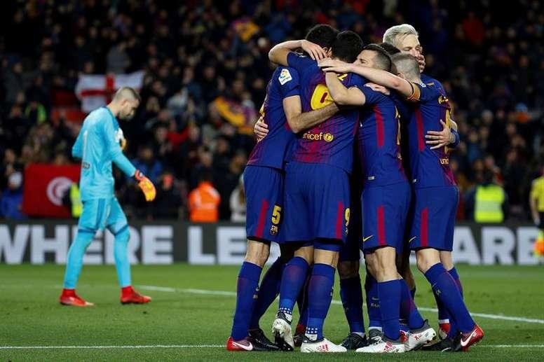 Le Barça a des records à battre. EFE