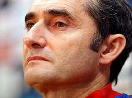 Ernesto Valverde afirma que vai ser um jogo complicado. EFE