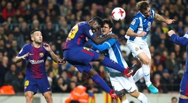 Barcelona and Espanyol face off for the fifth time this season. EFE