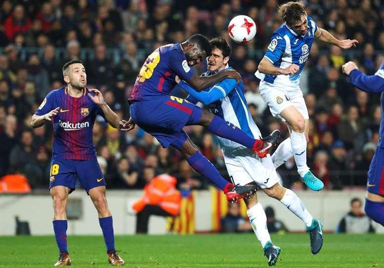Le Barça rencontre l'Espanyol. EFE