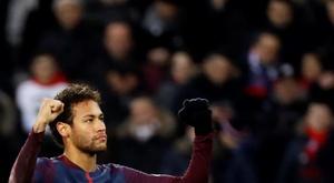 Neymar tem a confiança de Tuchel. AFP