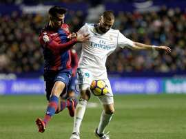 Real were made to do with a point against Levante. EFE