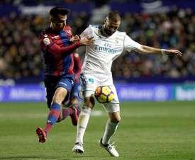 Benzema pourrait commencer la rencontre titulaire. EFE