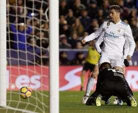 Oier habló de la salida de Cristiano Ronaldo. EFE