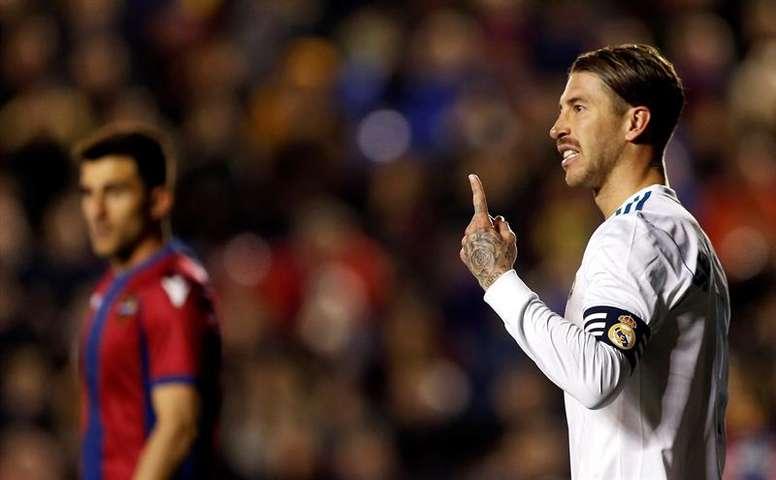 Sergio Ramos doit réveiller son équipe. EFE
