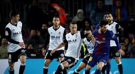 Rodrigo y Coquelin apuntan a titulares ante el Atalanta. EFE