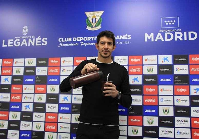 Champagne dejó el Leganés y defenderá la portería del Oviedo. EFE