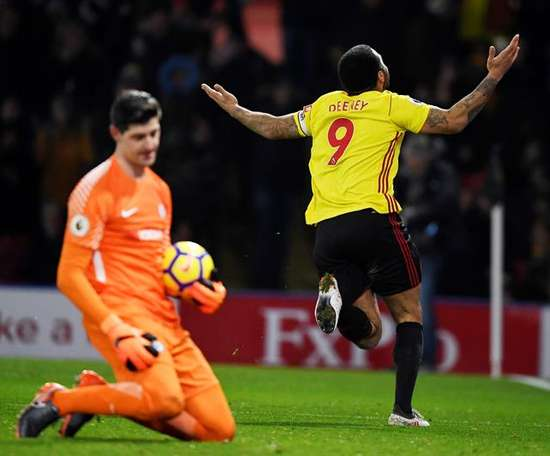 Deeney opened up about his time at Watford. EFE