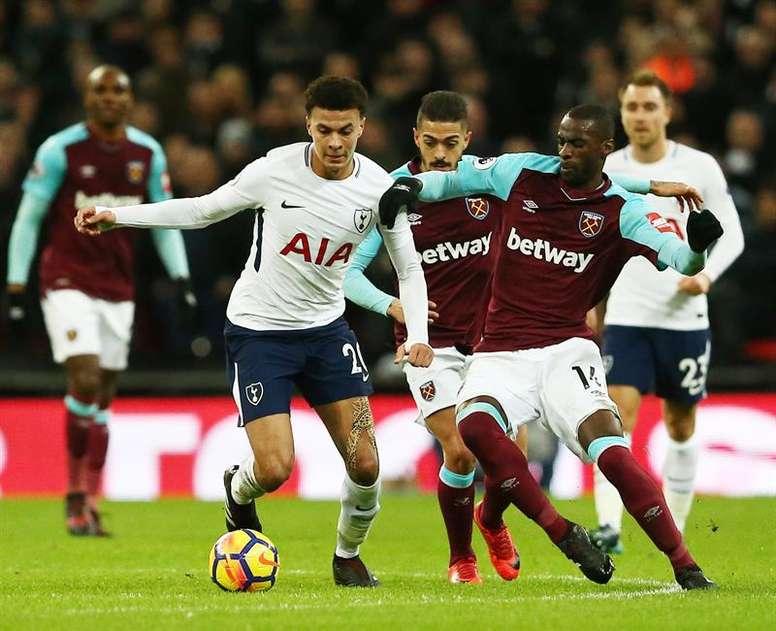 Obiang dice adiós a la temporada. EFE/Archivo