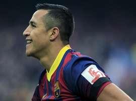 Alexis supera Messi no gol da década do Barcelona. EFE/Archivo