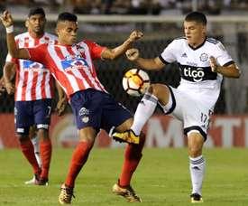 Importante victoria del conjunto paraguayo. EFE