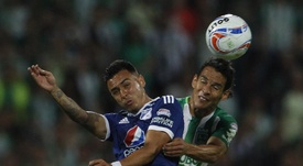 Santiago Montoya juega actualmente en Millonarios. EFE