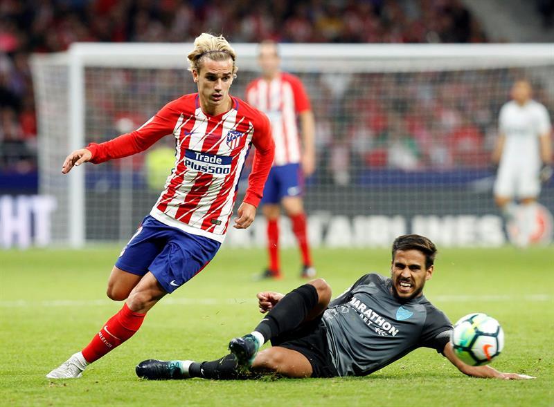 Málaga cayó ante el Atlético