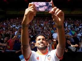 Garay suivi par l'Inter en cas de départ de Godín ? EFE