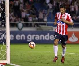 Teo Gutiérrez no irá al Mundial. EFE