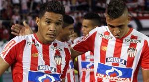 Junior ganó el partido por la mínima ante Guaraní. EFE