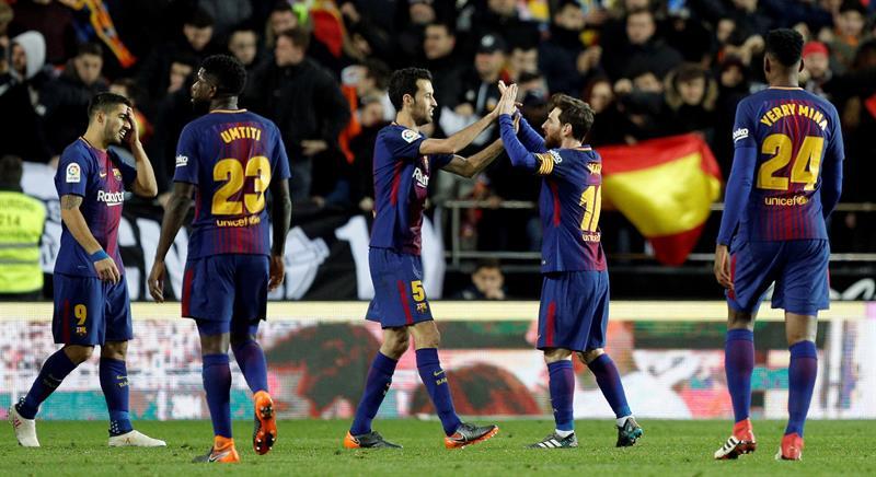 Prochain article Article précédent Pin Le Barça est sur tous les fronts. EFEWhatsappTwitterFacebookCommentaires 2