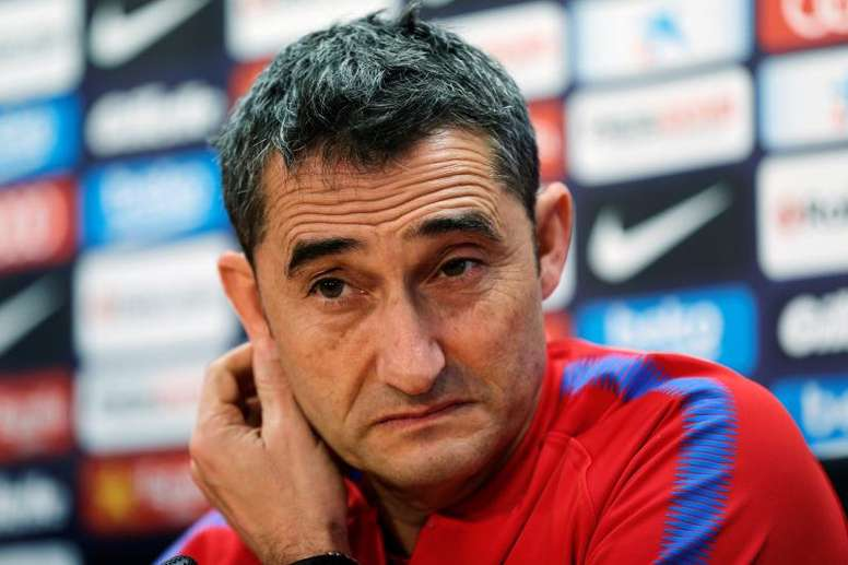 Valverde has Ousmane Dembele to call upon once again. AFP