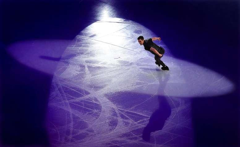 El patinador español Javier Fernández. EFE/Archivo