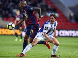 Importante triunfo del Deportivo Chaves. EFE