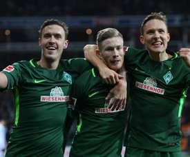 El Bremen igualó un 2-0. EFE