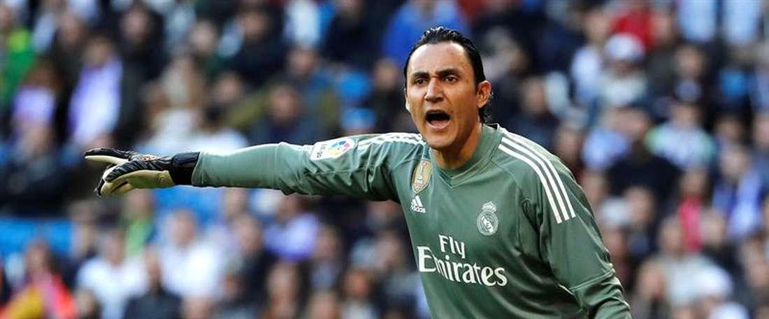 Navas has not let rumours hurt his performance. EFE/Archivo