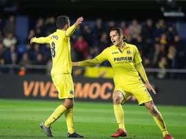 El Villarreal inicia la semana europea. EFE/Archivo