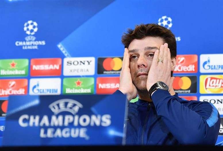 Pochettino no cierra la puerta del Bernabéu. EFE