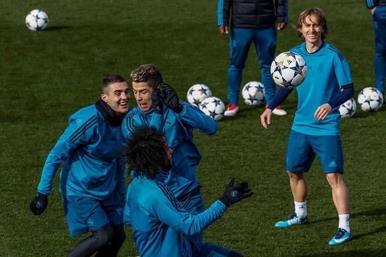 Kovacic repasó su estancia en el Real Madrid. EFE