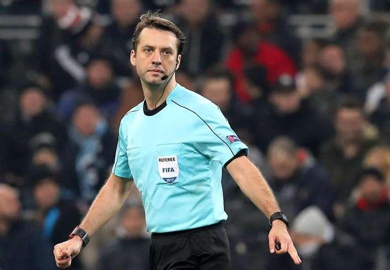 Un árbitro internacional desde 2005. EFE