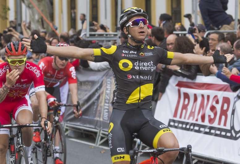 El velocista francés Bryan Coquard. EFE/Archivo