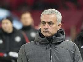 Mourinho prépare la saison prochaine du côté de United. EFE