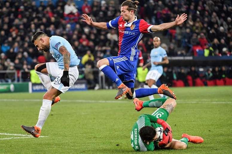 Basel travel to Manchester. EFE
