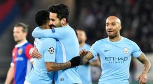City foi à Suíça vencer por 0-4. EFE