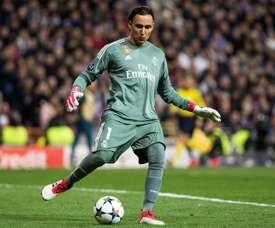 Keylor Navas es un fijo en la portería del Madrid. EFE