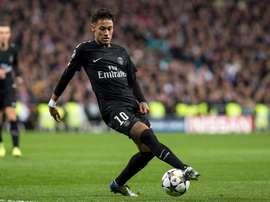 Neymar fue criticado por Valère Germain. EFE