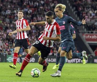 Griezmann, tras los pitos en el Wanda en Champions, se estrena ahora en Liga. EFE