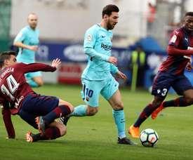 Cote s'est exprimé sur Messi. EFE