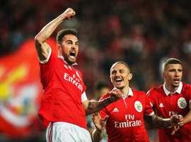 El Benfica logró un nuevo triunfo. EFE