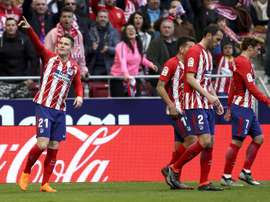 Gameiro and Costa on target as Atletico keep up Barcelona chase. EFE