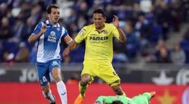 Diego López despidió a Víctor Sánchez y Javi López entre elogios. EFE