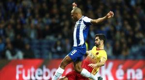 Yacine Brahimi in action for FC Porto. EFE
