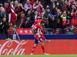 O Atlético venceu por 2-5 na deslocação a Sevilha. EFE