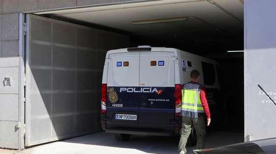 La última operación policial contra las apuestas ha dejado al menos veinte detenidos. EFE/Archivo