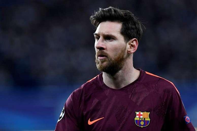El Barcelona le subió la cláusula en su última renovación . EFE