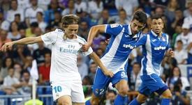 Marc Roca se ha convertido en un hombre clave para el Espanyol. EFE