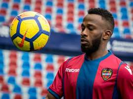 Fahad debutó con el Levante. EFE