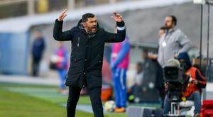 Sérgio Conceição garantiu a sua continuidade no FC Porto. EFE