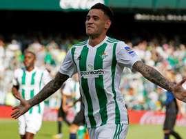 Sanabria est sous contrat avec le Bétis Séville jusqu'en 2021. EFE